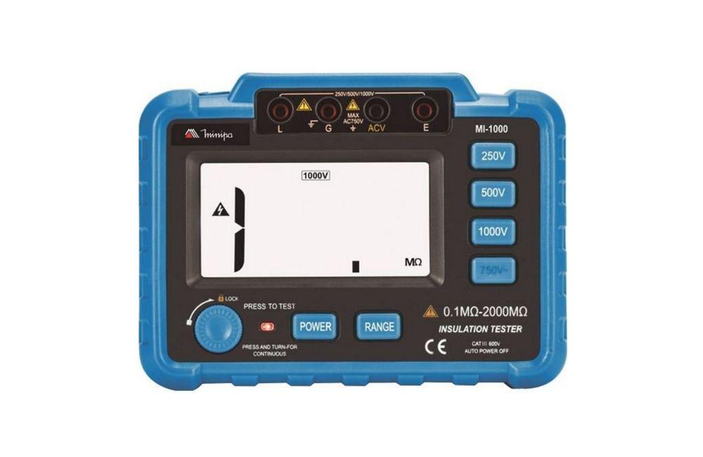 Megômetro Digital Portatil 1000V MI 1000 - MINIPA