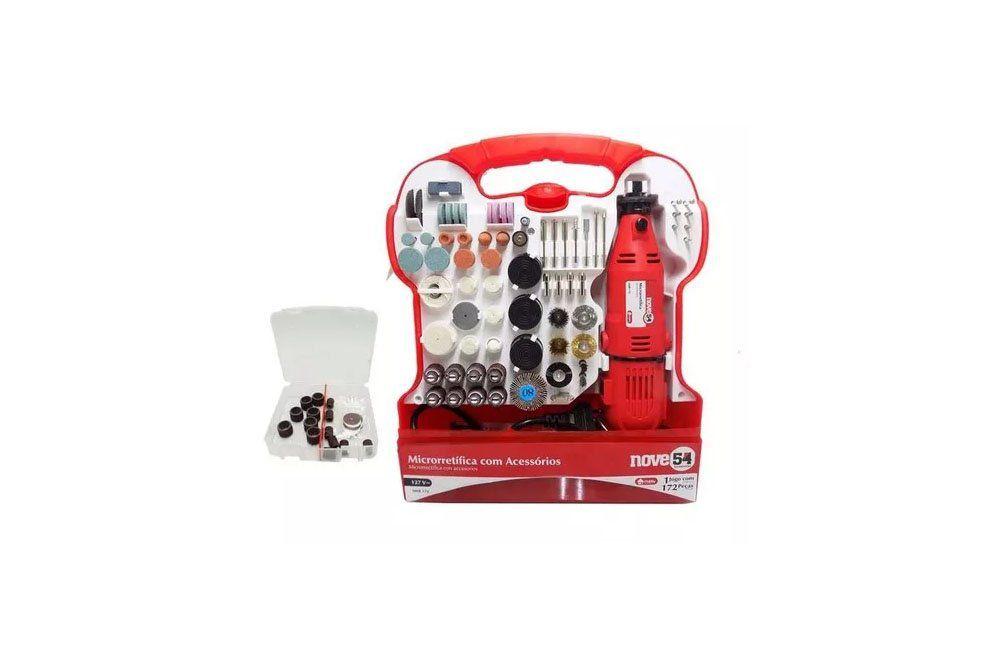 Micro Retifica 130W 110V 172 peças AMR172 - 954