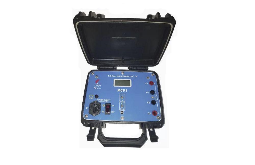 Miliohmímetro Digital 200MH/1.4A MCR-1 - Minipa