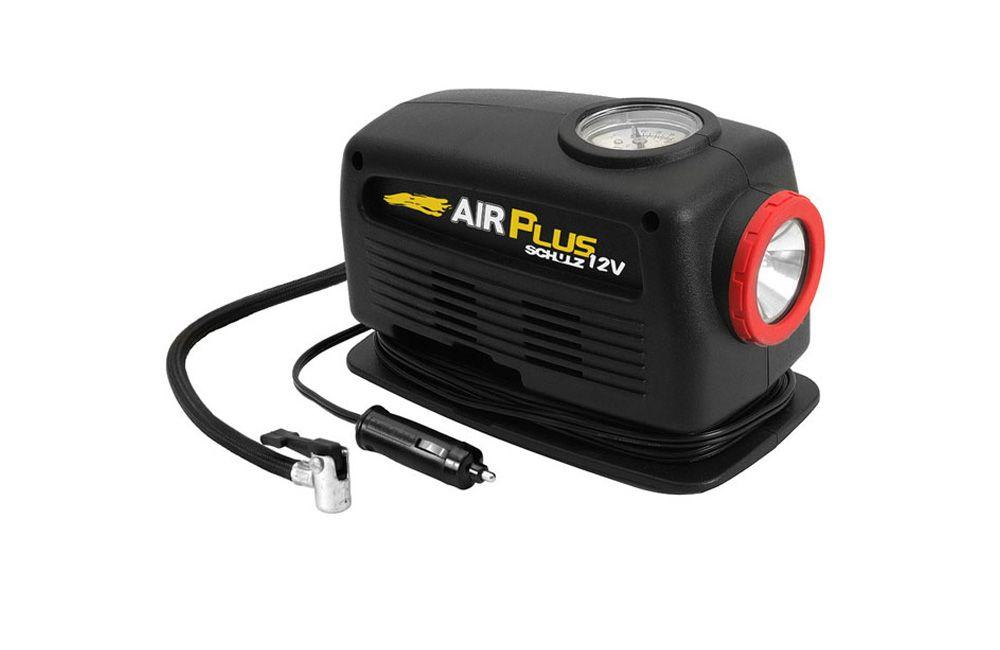 Motocompressor AirPlus 12V com Lanterna Hobby