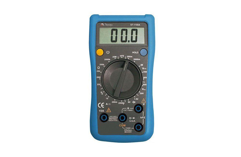 Multímetro Digital 10A/600V ET-1100A - Minipa