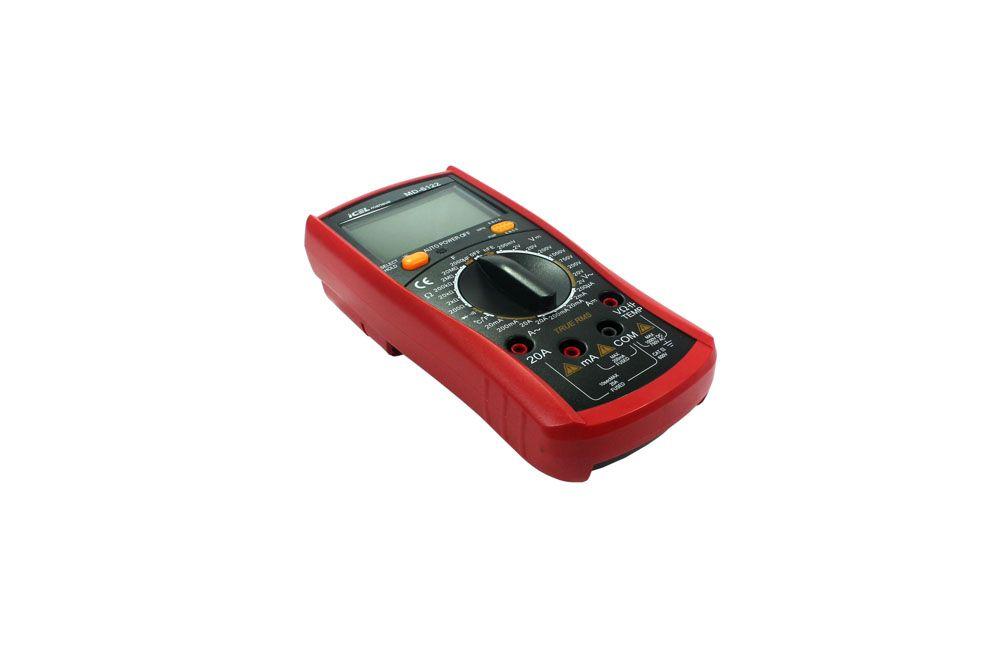 Multímetro Digital AC/DC 20A/1000V MD-6122 - Icel