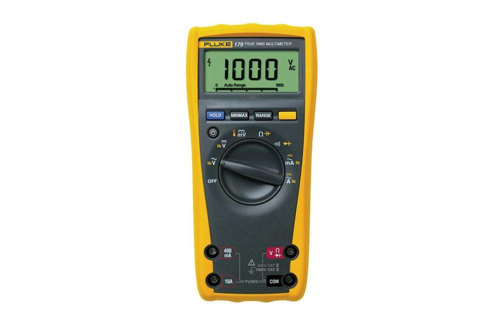Multímetro Digital AC/DC TRMS com Medidor de Temperatura Fluke 179 ESFP