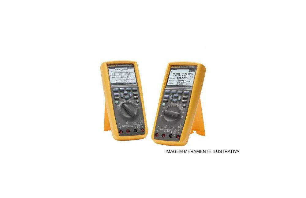 Multímetro Digital Industrial AC/DC TRMS com Software 289 - Fluke