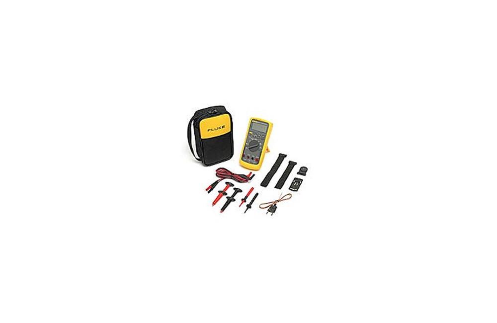 Multímetro Fluke 87V/E2 Combo Kit Industrial para eletricistas - Fluke