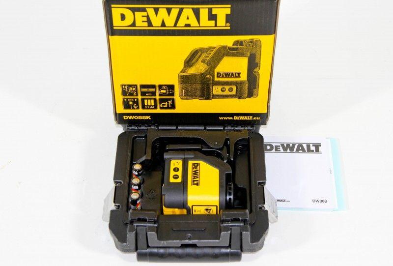 Nível Laser Base Magnetica Dewalt DW088K 15 Metros