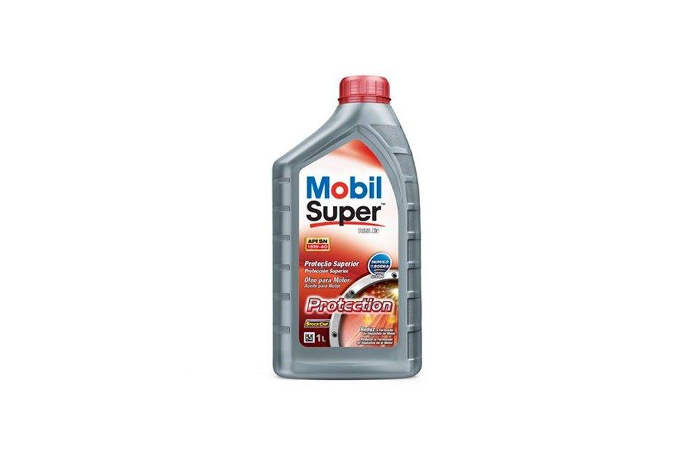 Óleo Lubrificante 15W-40 de 1 litro para Geradores Diesel - Mobil
