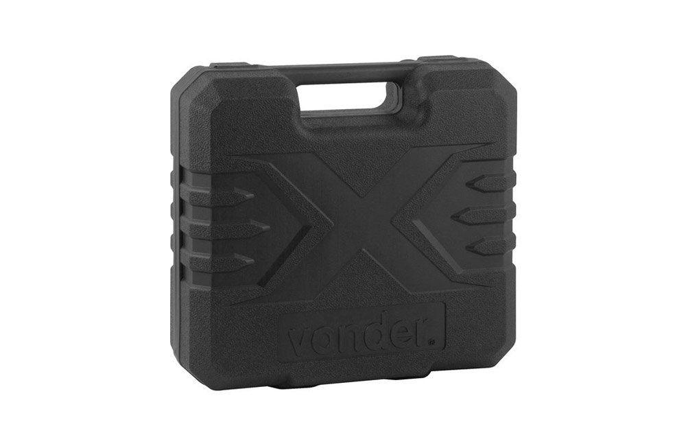 Parafusadeira/Furadeira a Bateria 12V 3/8'' + Esmerilhadeira 4.1/2 1100W 220V EAV-1140 - Vonder