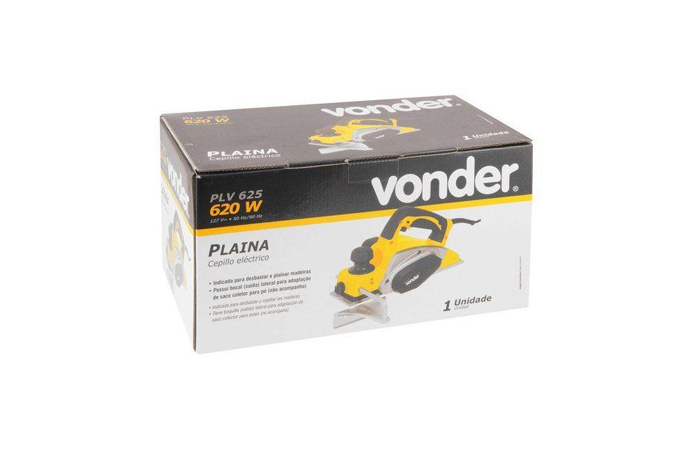 Plaina 82MM 620W PLV625 110V - Vonder