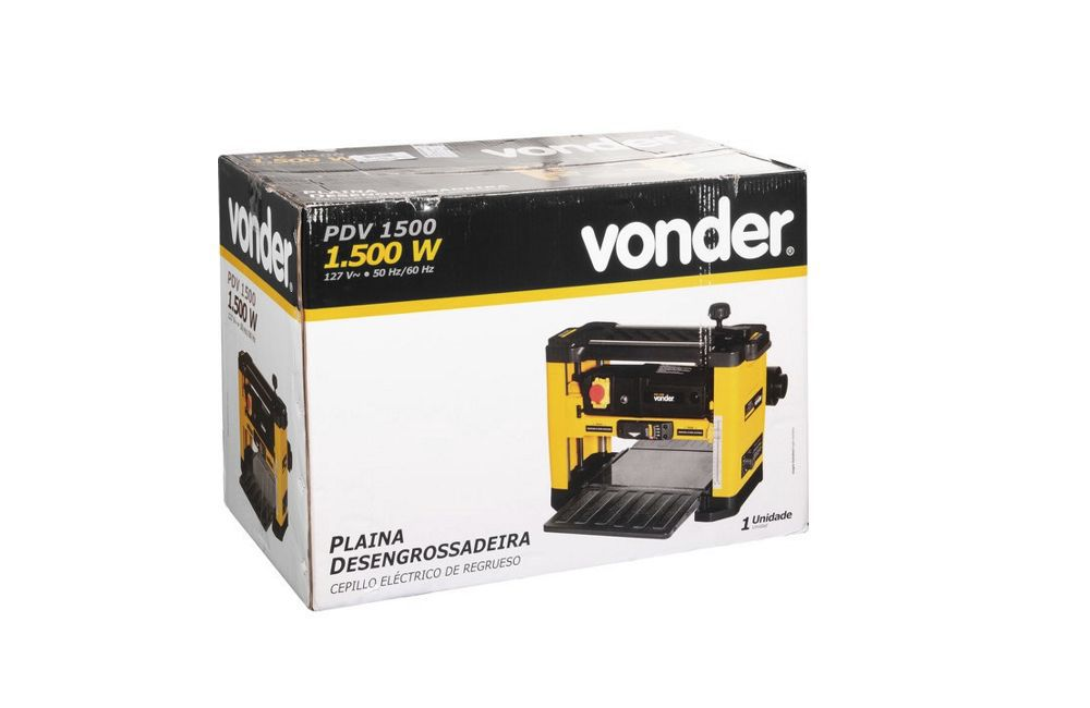 Plaina Desengrosso 1500W 110V PDV1500 - Vonder