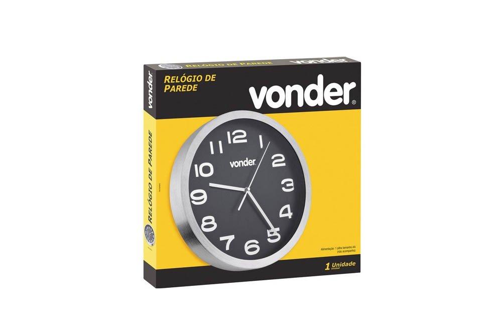 654556b6648 ... Relógio de Parede 360mm sem Pilha - Vonder - COFERMETA S.A