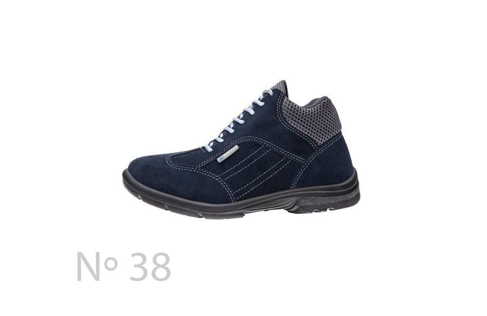 Sapato de Segurança de Camurça Azul N38 Marluvas 50F62