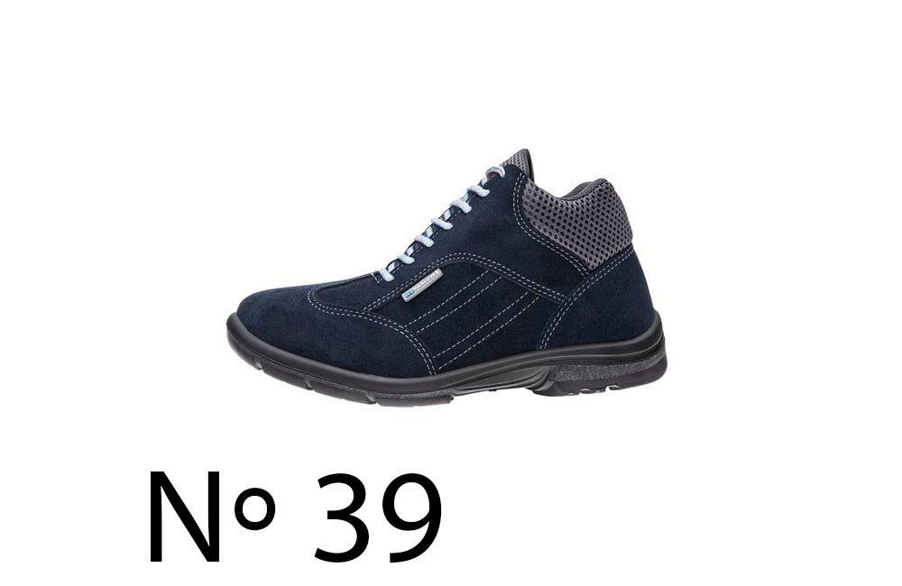 Sapato de Segurança de Camurça Azul N39 Marluvas 50F62