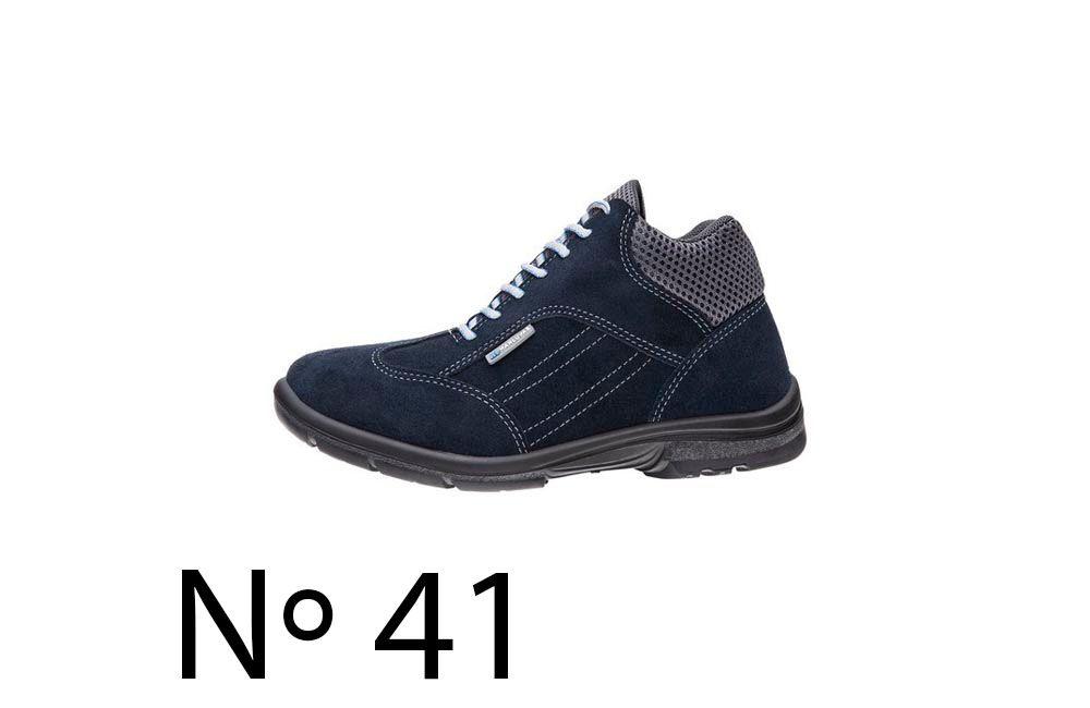 Sapato de Segurança de Camurça Azul N41 Marluvas 50F62