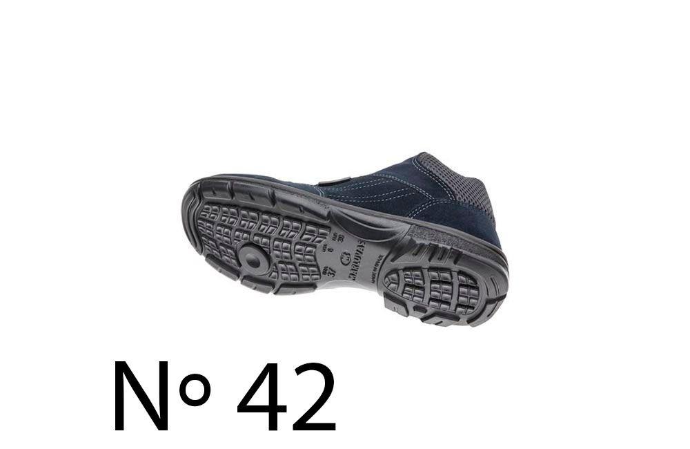 Sapato de Segurança de Camurça Azul N42 Marluvas 50F62