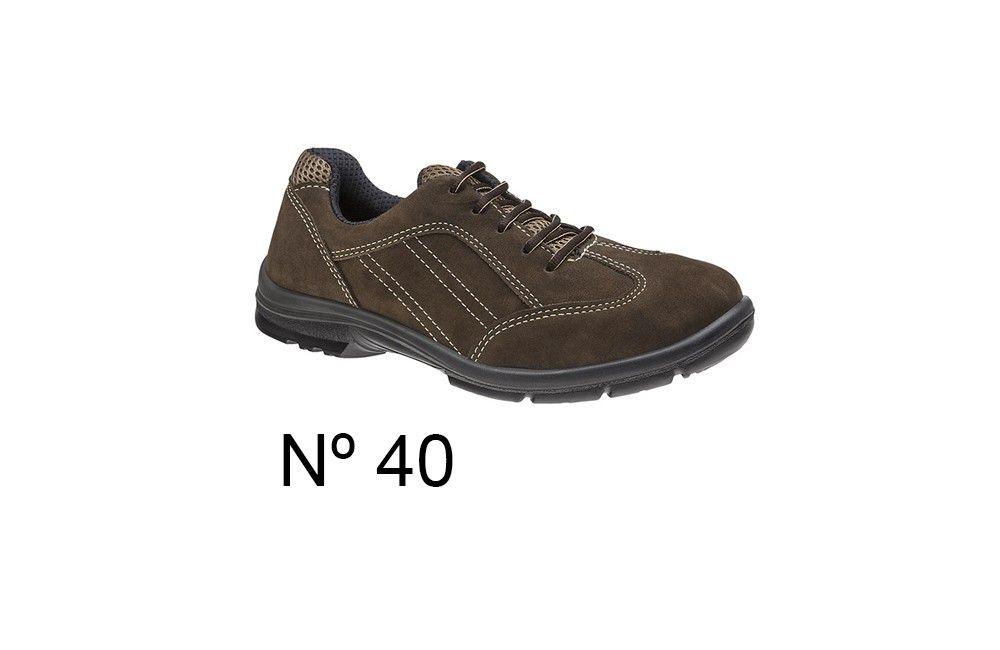 Sapato de Segurança de Camurça Marrom N40 Marluvas 50F60