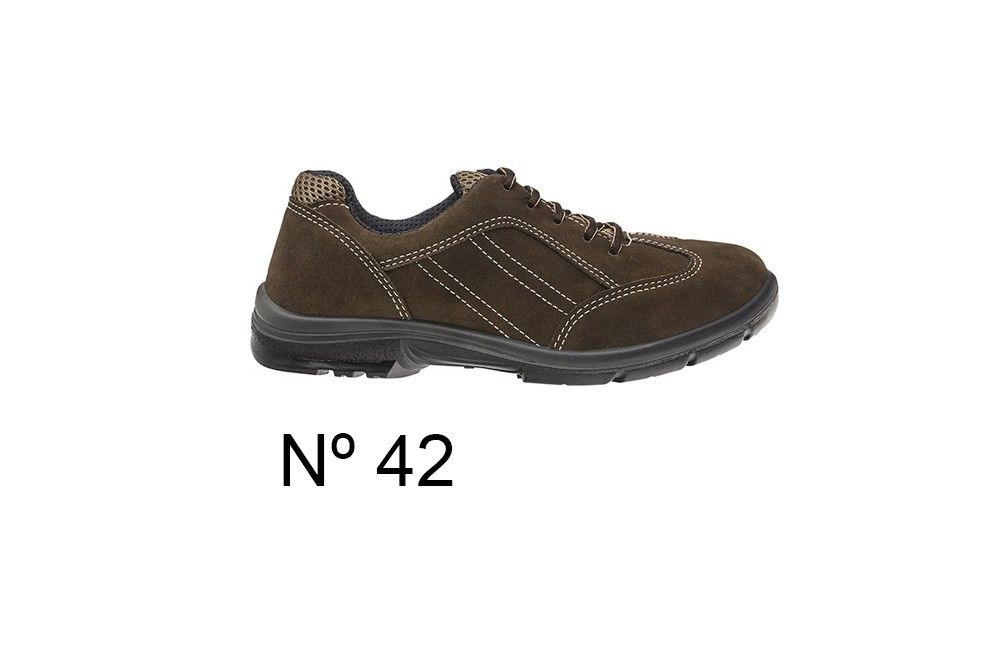 Sapato de Segurança de Camurça Marrom N42 Marluvas 50F60