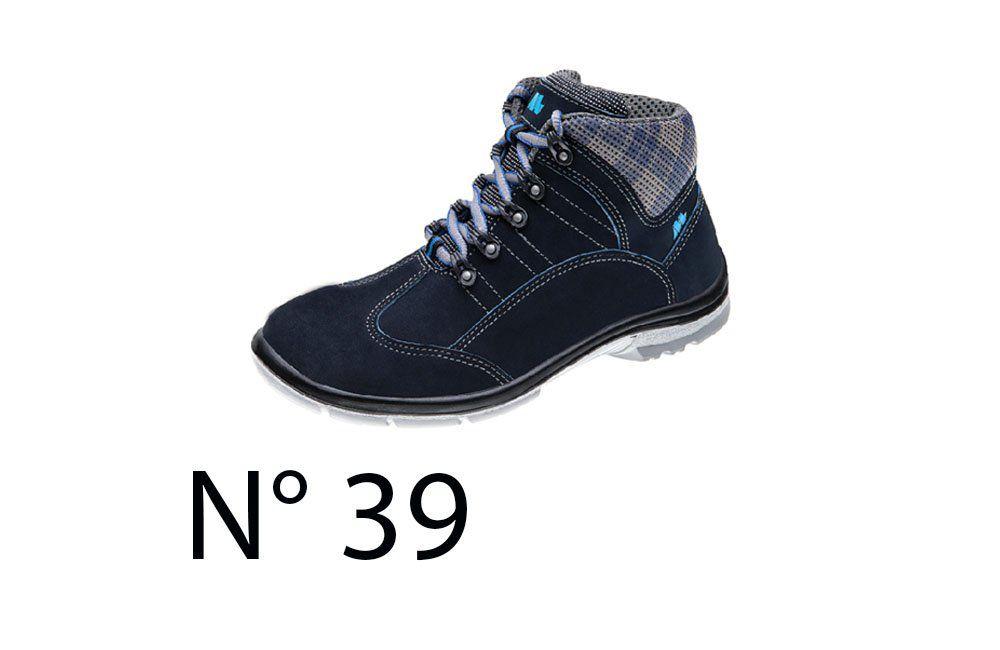 196f90e736b79 Sapato de Segurança Feminino Azul N39 50F62 Cano Alto - Marluvas -  COFERMETA S.A ...