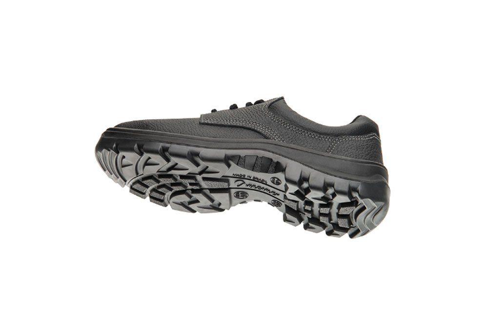Sapato de Segurança Preto N39 Vulcaflex 10VS48-BP - Marluvas