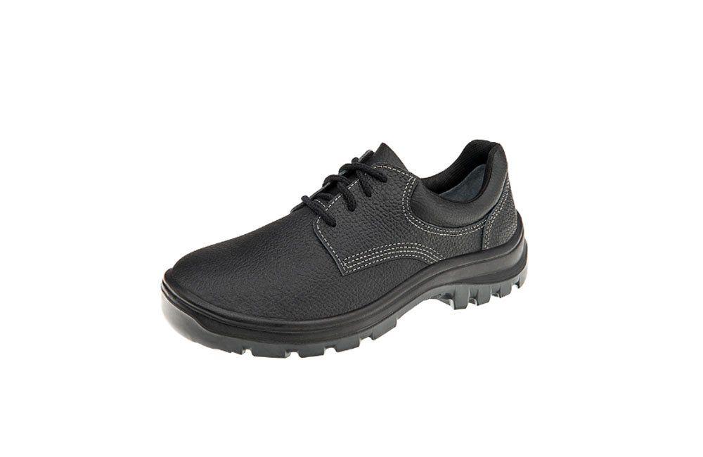 Sapato de Segurança Preto N41 Vulcaflex 10VS48-BP - Marluvas