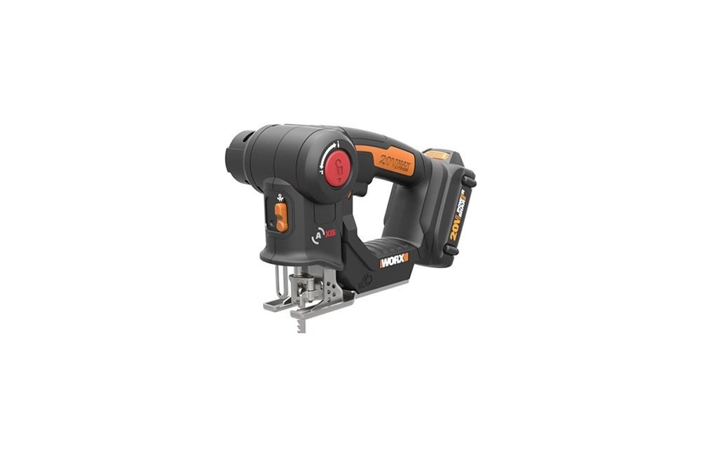 Serra Multi-uso Tico-Tico e Sabre à Bateria de 20V Bivolt WX550 - Worx
