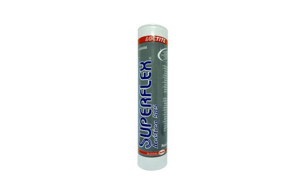 Silicone Adesivo Transparente 280 ml Superflex 585 Loctite