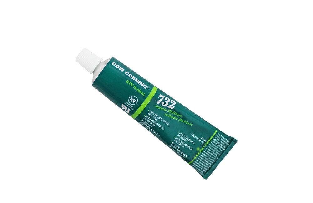 Silicone Incolor 85GR 732RTV - Dow Corning