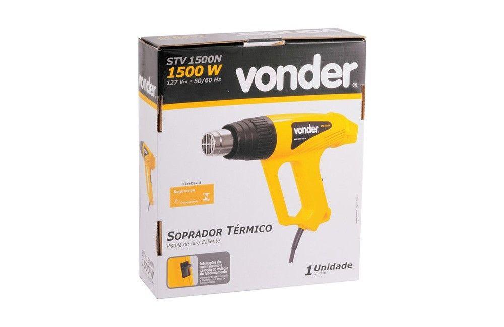 Soprador Térmico com Acessórios 300/500G STV1500N 110V - Vonder