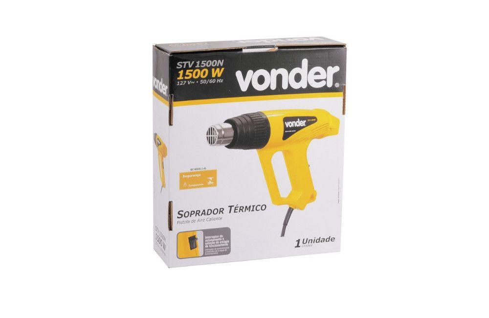 Soprador Térmico de 300/500G STV1500N 110V com Acessórios - Vonder