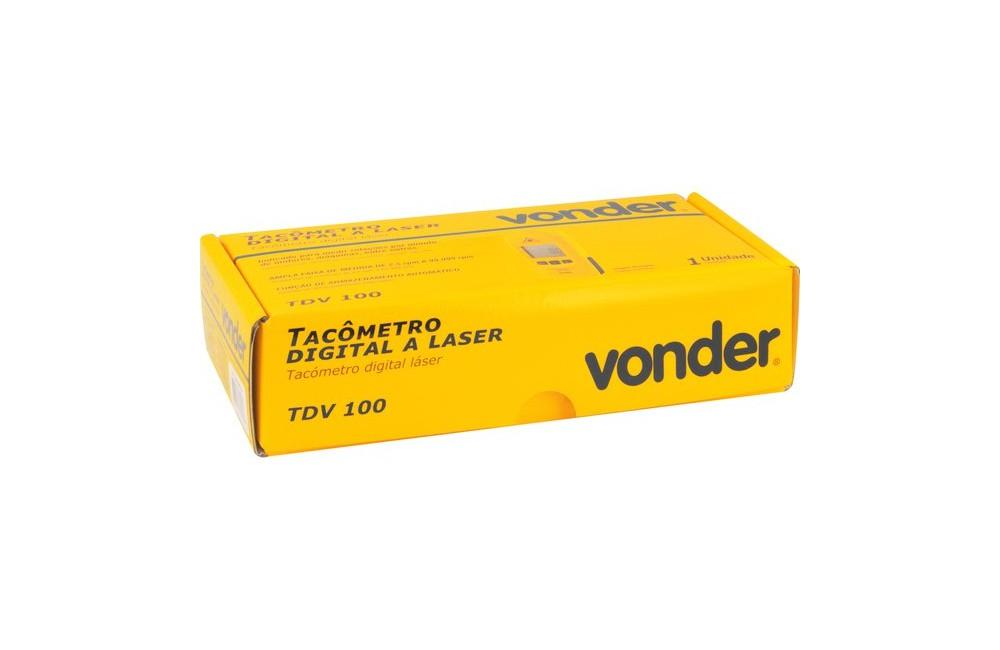 Tacômetro Digital Laser TDV100 - VONDER
