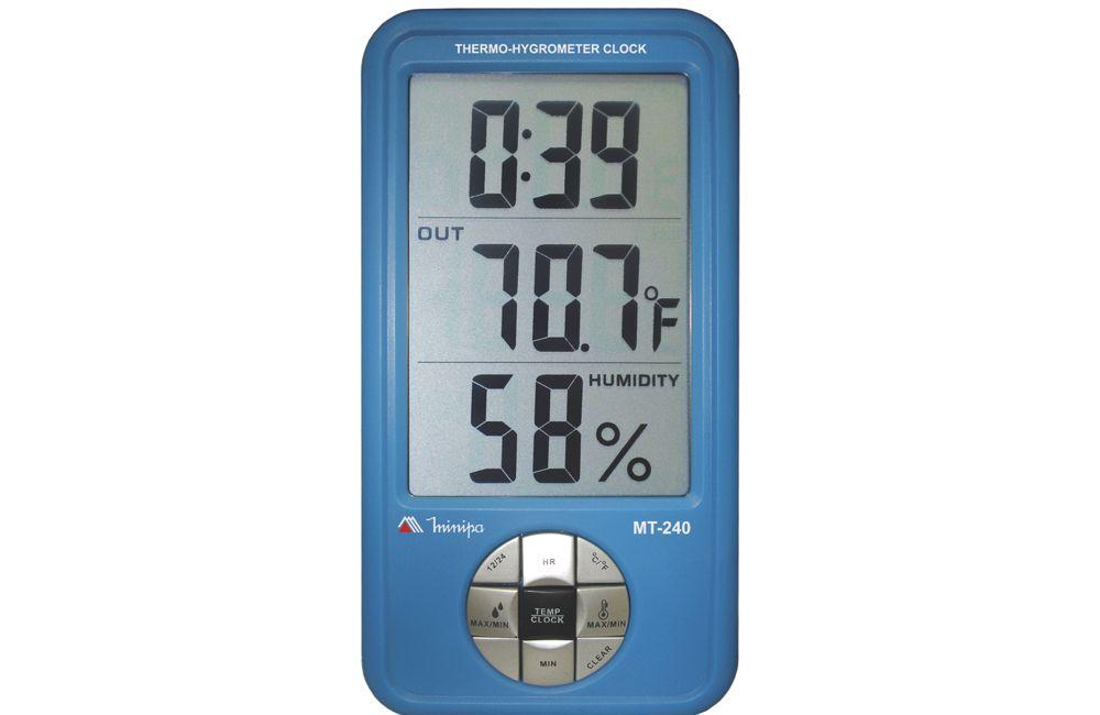 Termo-Higrômetro digital MT-240