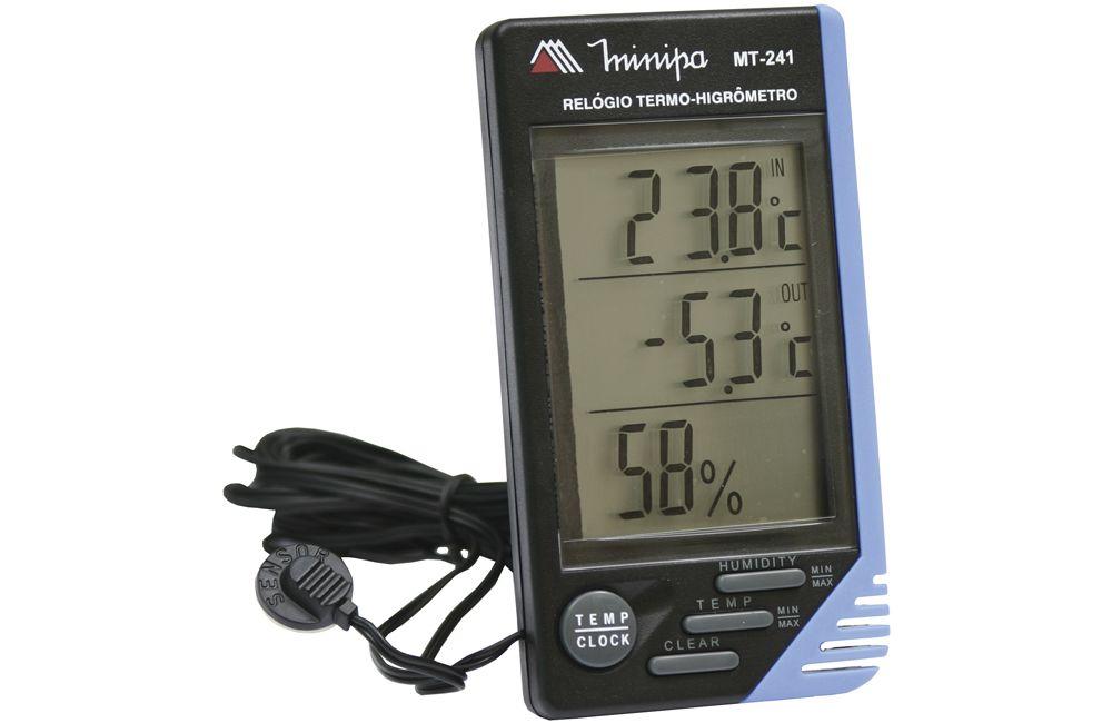 Termo-Higrômetro Digital MT-241