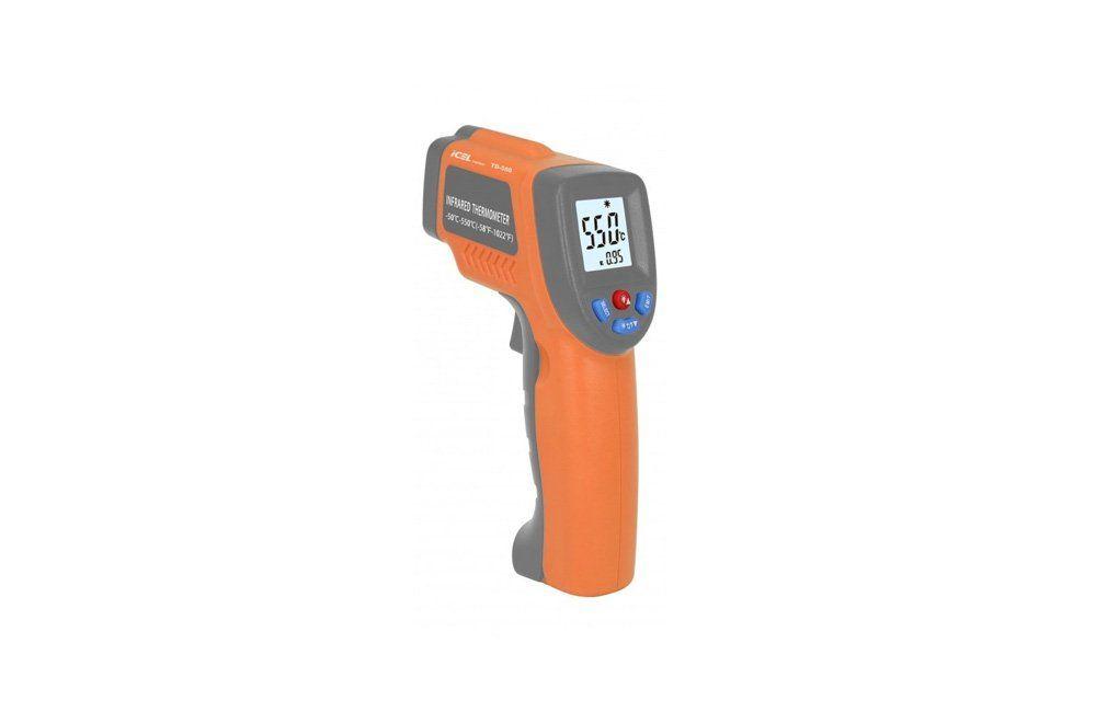 Termômetro Digital Infravermelho com Mira Laser TD-550 - Icel