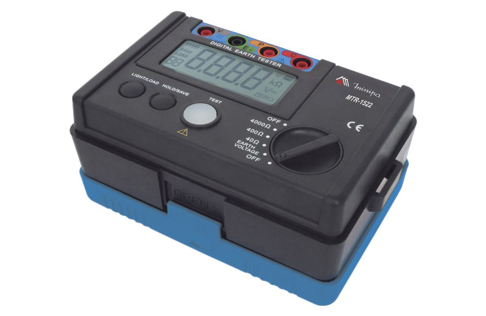 Terrômetro Digital 4000OH/400V MTR-1522