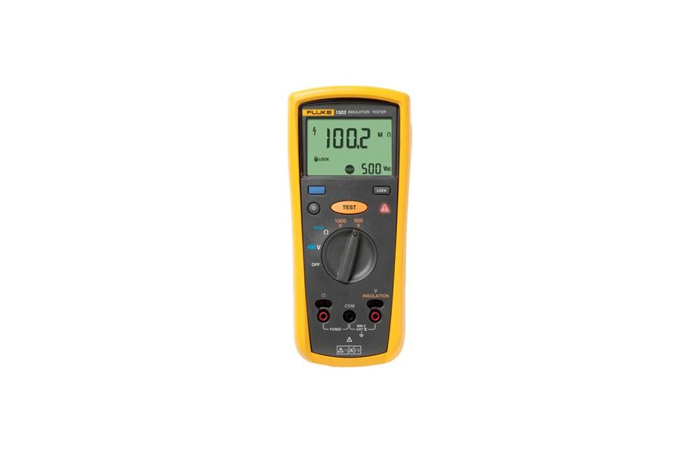 Testador de Isolação CA/CC de 500 a 1000V 1503 - Fluke