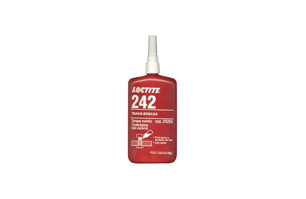 Trava Rosca Anaeróbica de 250 gramas 242 - Loctite