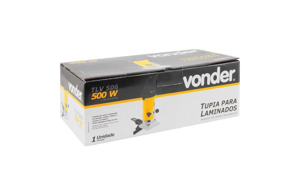 Tupia Laminadora Manual 500W 220V TLV506 - Vonder