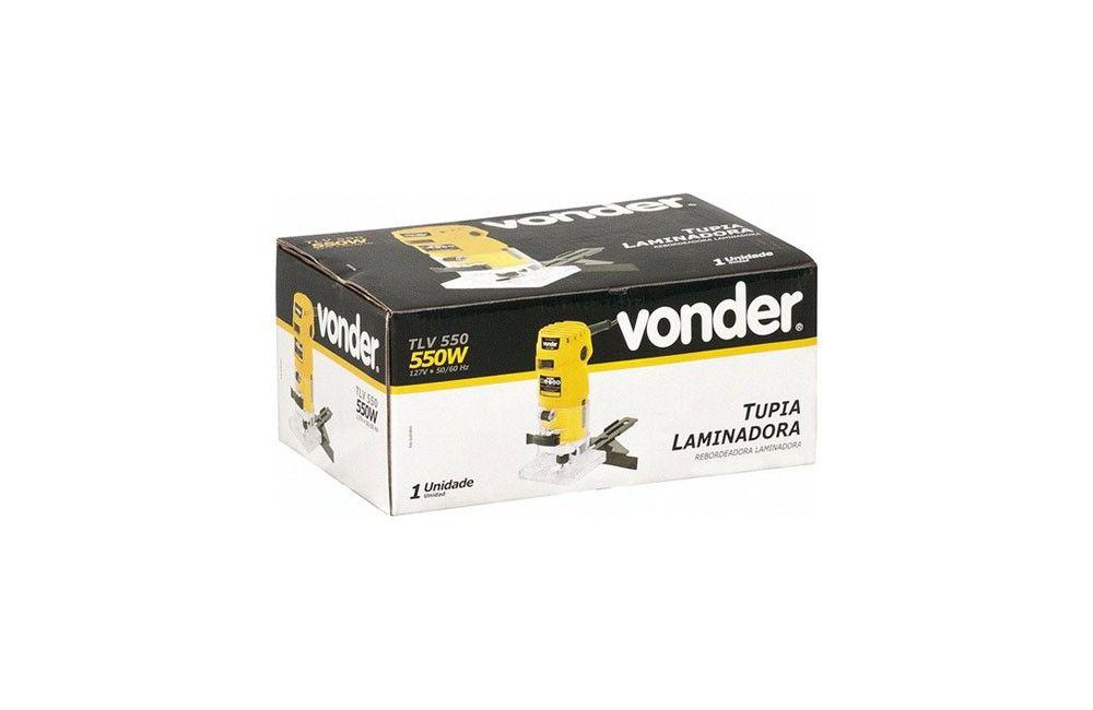 Tupia Laminadora TLV 550 550W 110V - Vonder