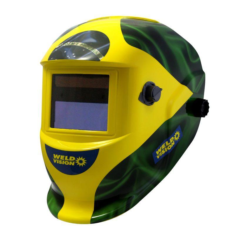 Mascara de Solda Automatica Ton. de 9 a 13 Weld Vision Patriota