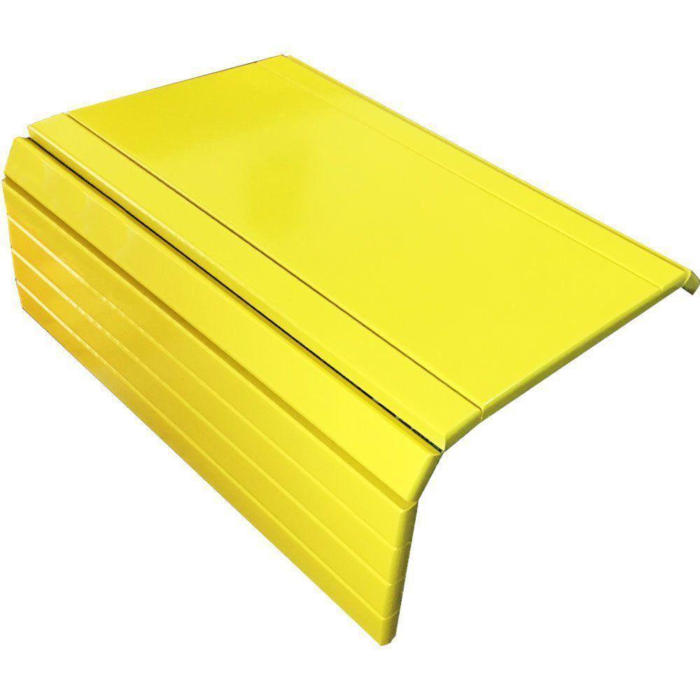 Bandeja Esteira para Braço de Sofá Porta Copo Reto Amarelo - Drossi