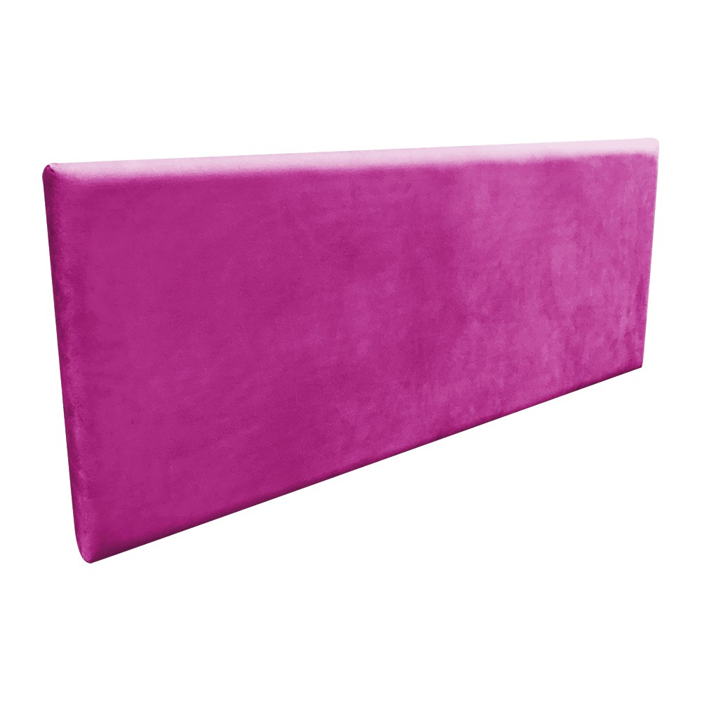 Cabeceira Painel Clean Cama Box Queen 140 cm Suede Pink - D'Rossi