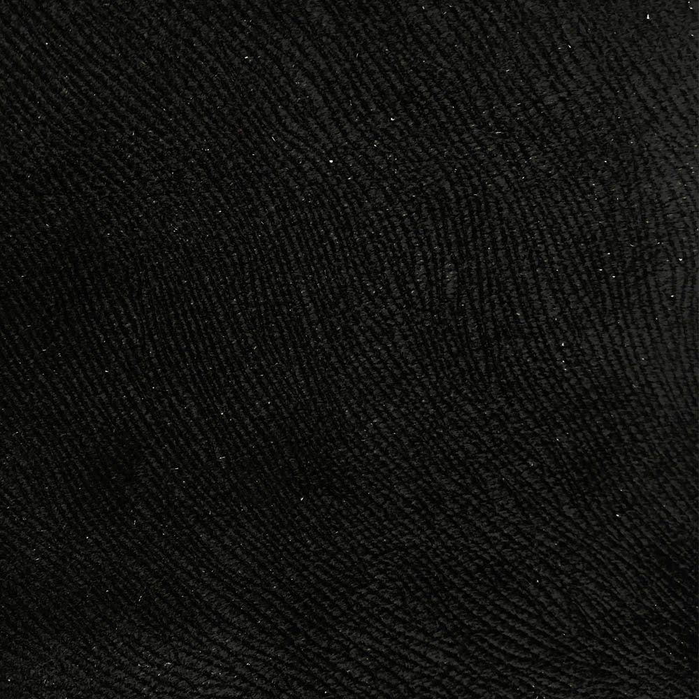 Cabeceira Painel Cristal para Cama Box Casal 1,40 m Suede Preto - D'Rossi