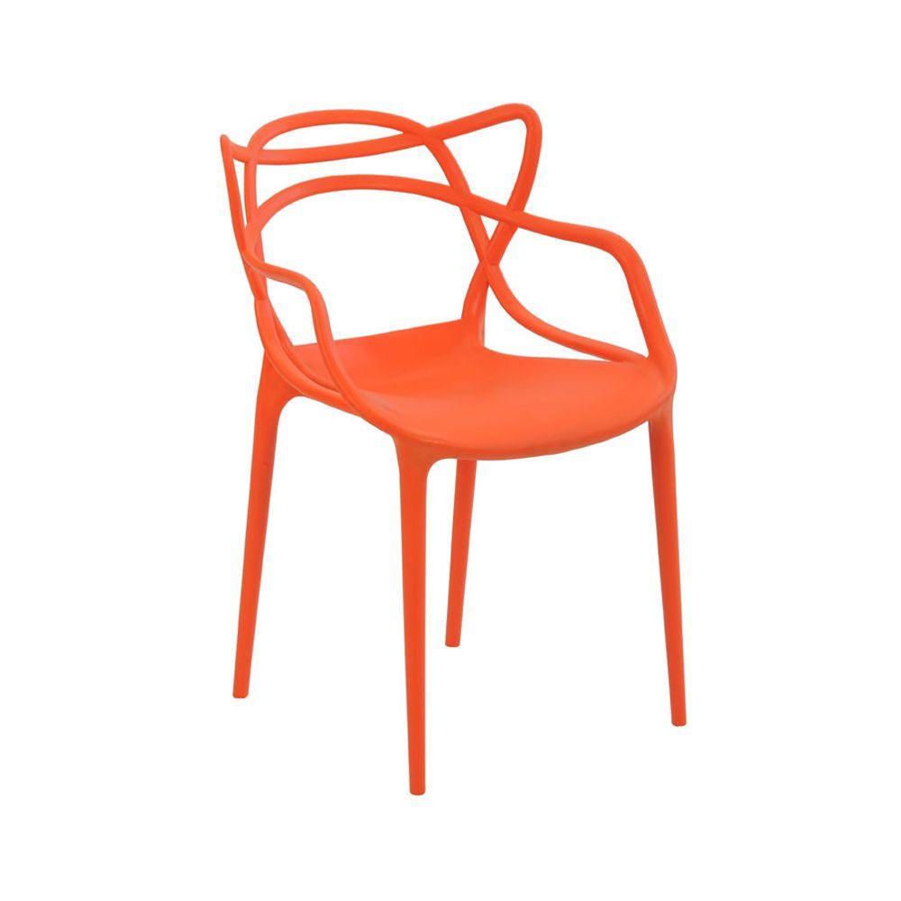 Cadeira Allegra Laranja D'Rossi