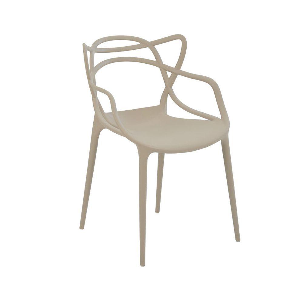 Cadeira Allegra Nude D'Rossi