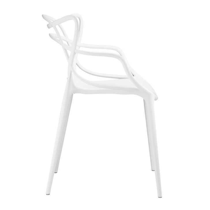 Cadeira Allegra Sala de Jantar Branco - D'Rossi