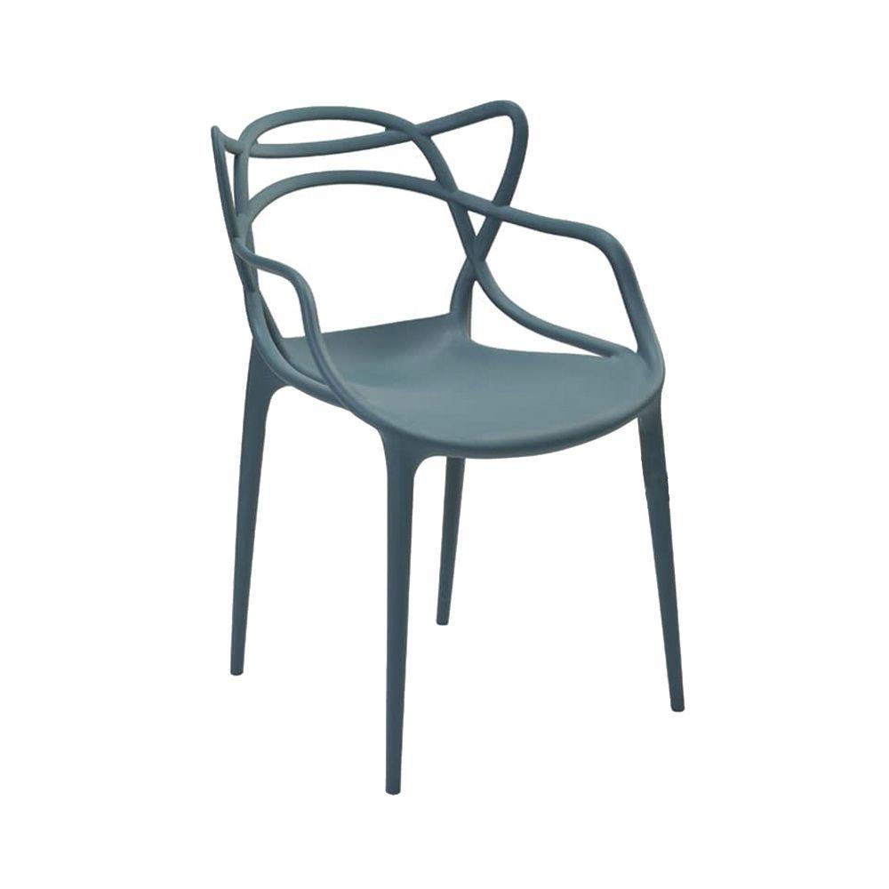 Cadeira Allegra Verde Petroleo D'Rossi