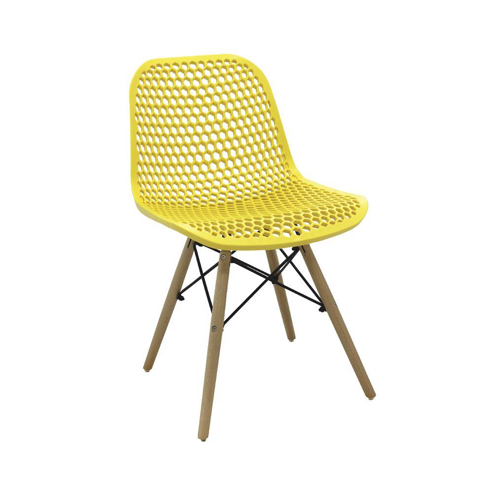Cadeira Eloísa Amarelo D'Rossi