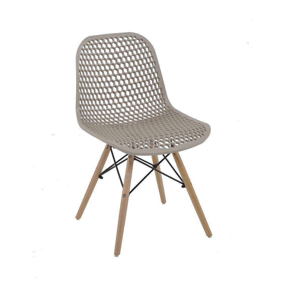 Cadeira Eloísa Nude D'Rossi