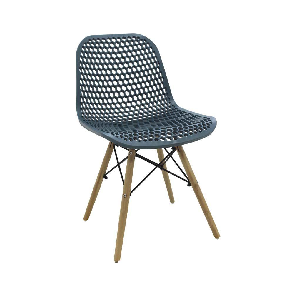 Cadeira Eloísa Verde Petróleo D'Rossi