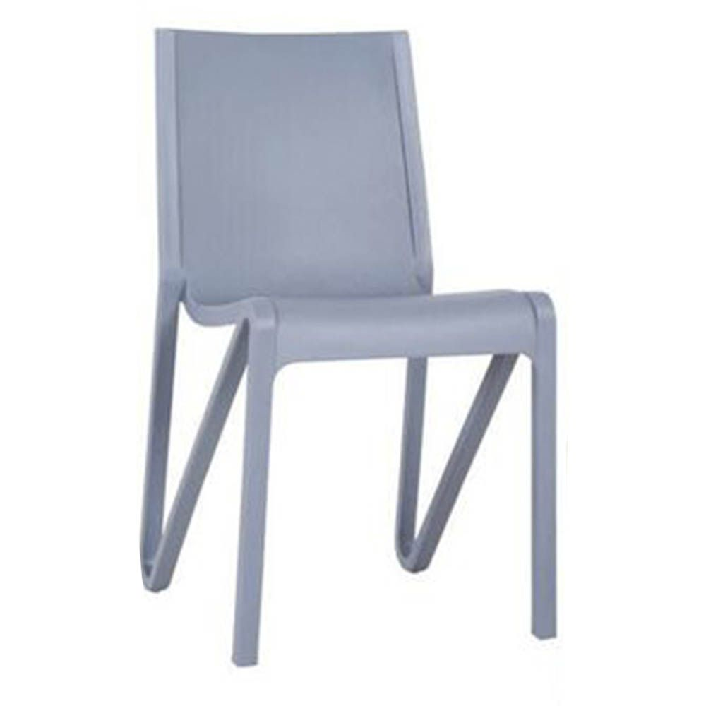 Cadeira Estocolmo Sala de Jantar Cinza - D'Rossi